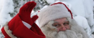 Santa-Claus-Say-Hi-Christmas-HD-Wallpapers